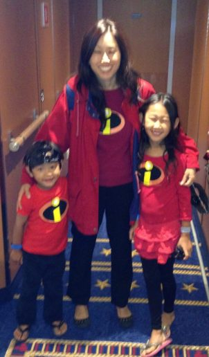 Disney Cruise Incredibles with Mom