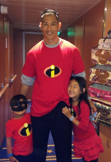Disney Cruise Incredibles with Dad