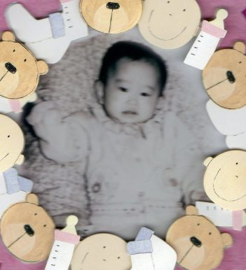 Baby picture in orphanage