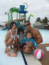 Family Picture at the Kroc Center Hawaii
