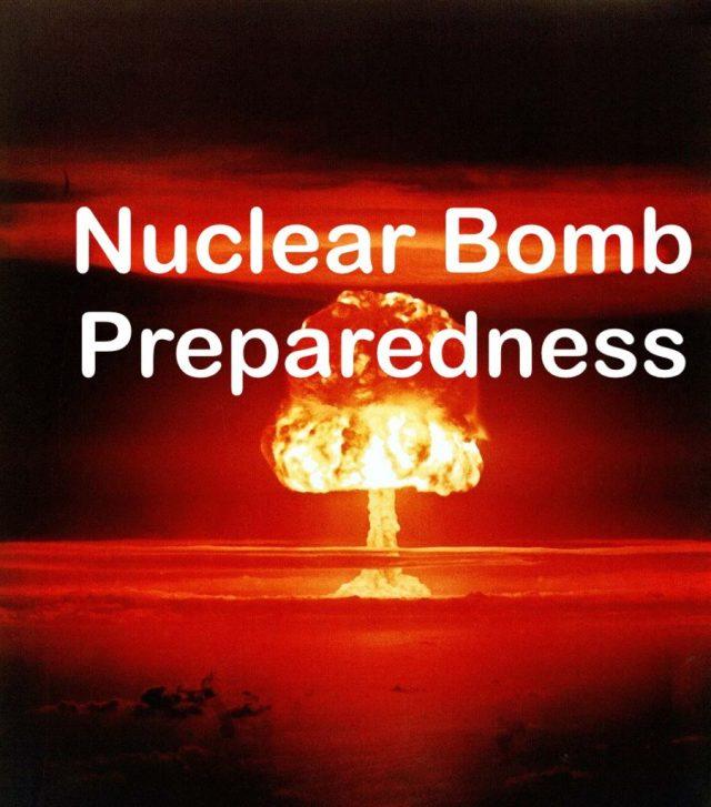 Nuclear Bomb Preparedness