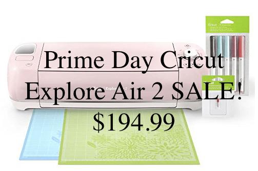 Prime Day Cricut Explore Air 2 SALE! $194 99 - Mom MD Hawaii