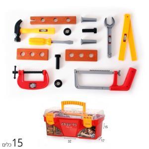 כלי עבודה, רופא, כבאי ארגז כלי עבודה 15 כלים - Mom & Me