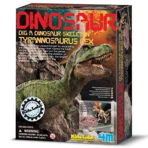 צעצועים חפירת שלד דינוזאור TREX - Mom & Me