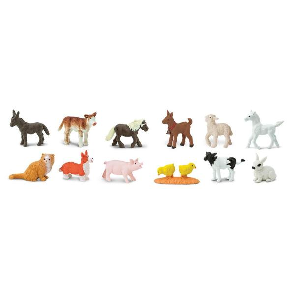 צעצועים גורי חיות החווה - Mom & Me