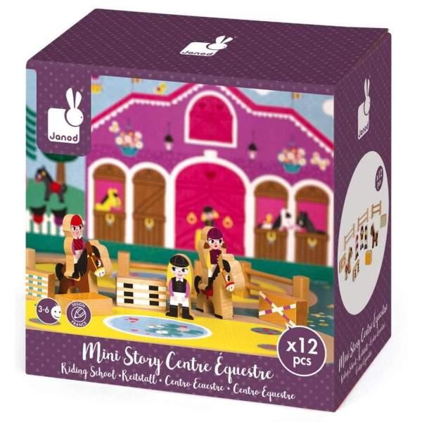 צעצועים מיני סטורי - בית ספר לרכיבה - Mom & Me