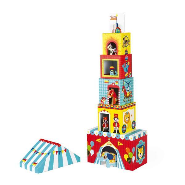 צעצועים משחק דמויות וקוביות הקרקס - Mom & Me