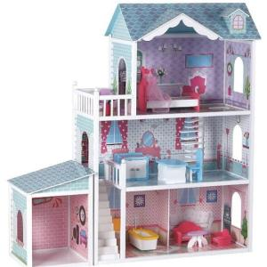 מוצרי עץ בית בובות מלכותי מעץ - מונטסורי - Mom & Me