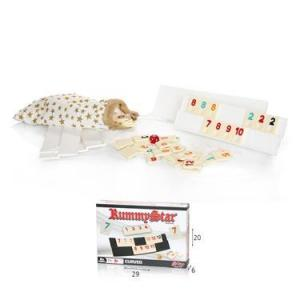 משחקי חשיבה וקלפים רמי קוביות פלסטיק - Mom & Me
