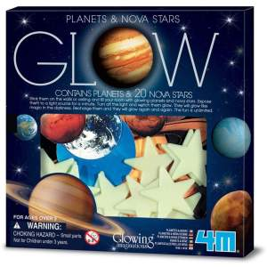 צעצועים כוכבי לכת זוהרים בקופסא - Mom & Me