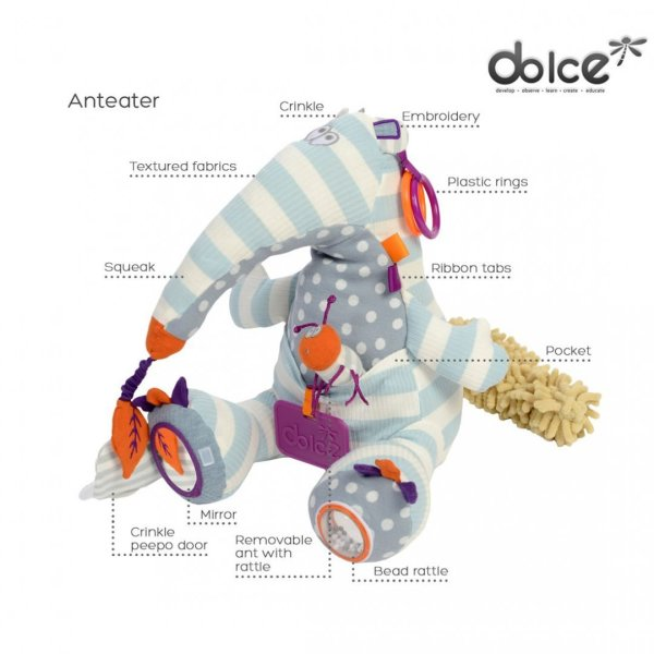 צעצועים צעצוע פעילות פרימו דוב נמלים - Mom & Me