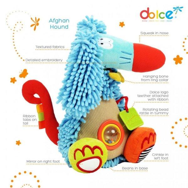 צעצועים צעצוע פעילות כלב אפגני - Mom & Me