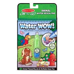 חוברת טוש המים- חיות מבית מליסה ודאג
