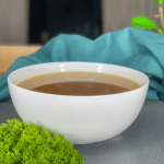 Chicken Stock Broth in a bowl