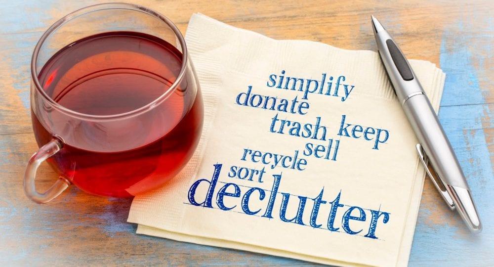 Declutter - Summer Activities Bucklist