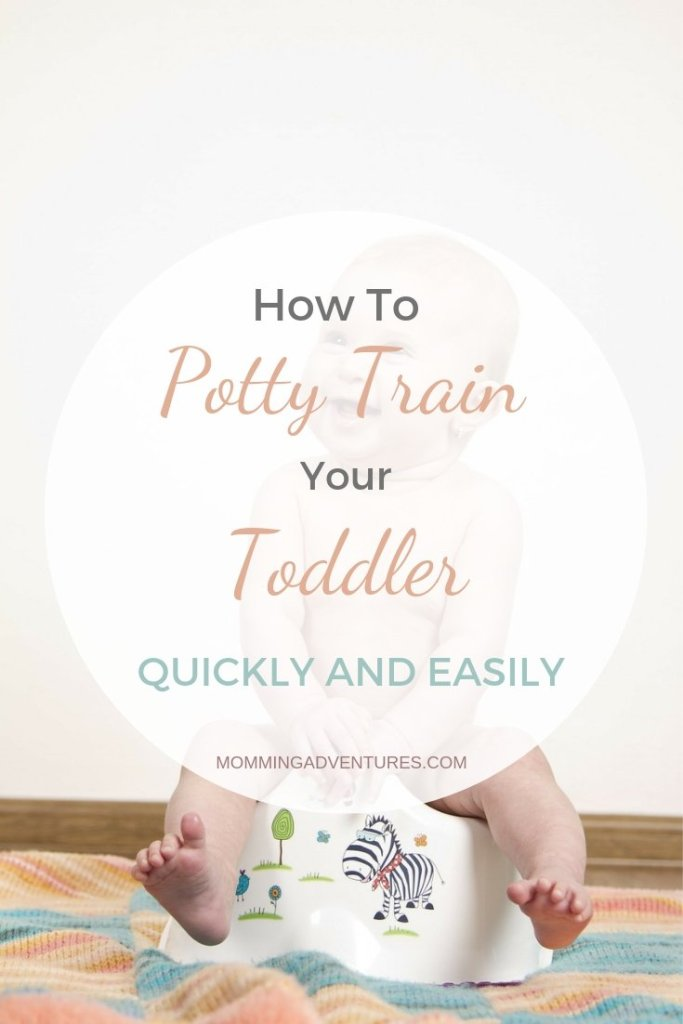 how to potty train your toddler