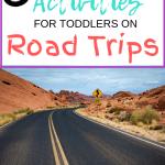 8 Ways to entertain your toddler on car rides.