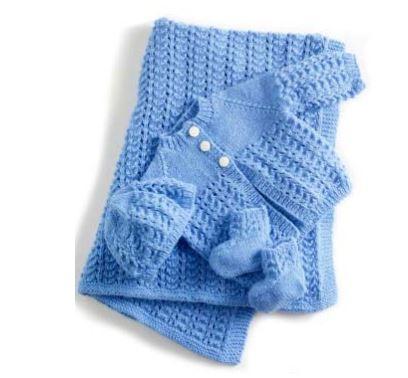 Exit in crochet maternity boy