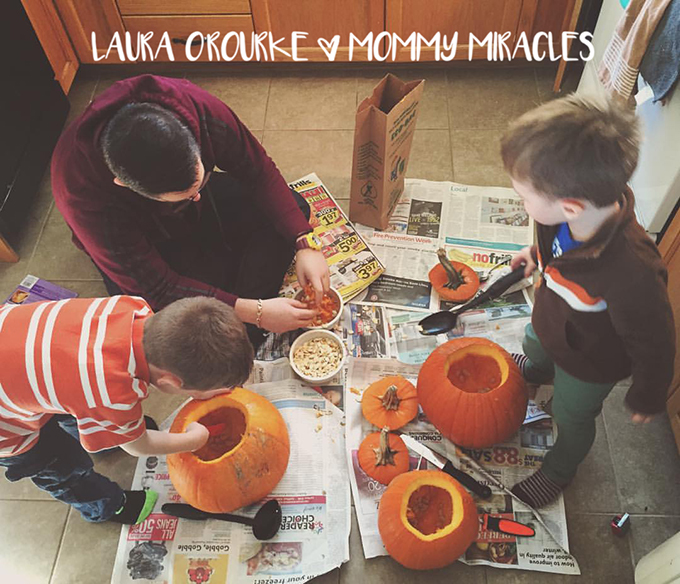 Carving Pumpkins   Mommy-Miracles.com