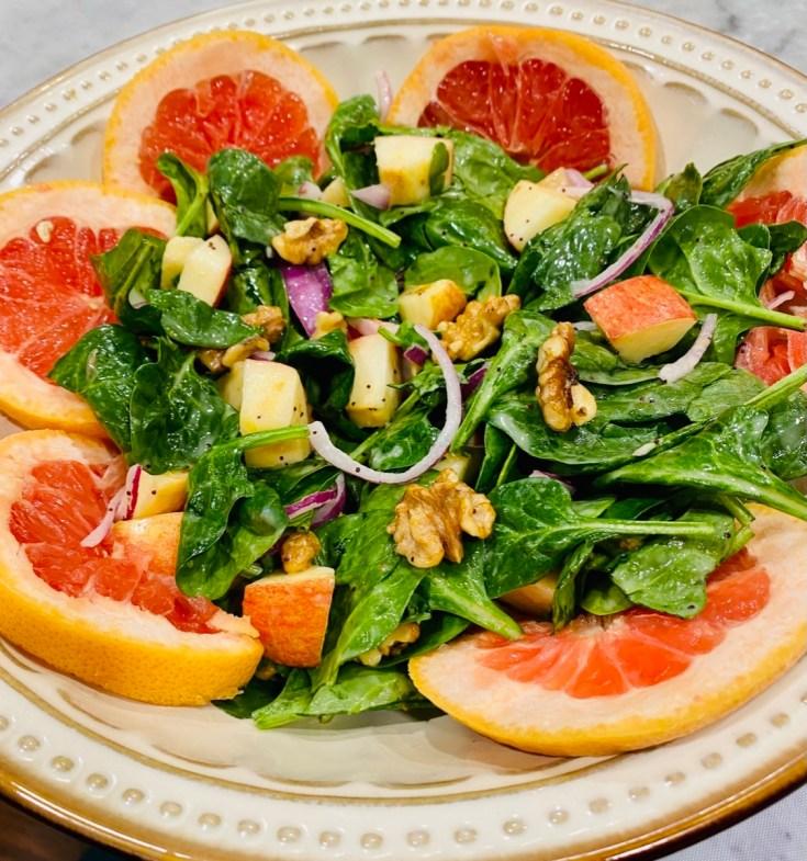 Summer Fresh Apple Salad