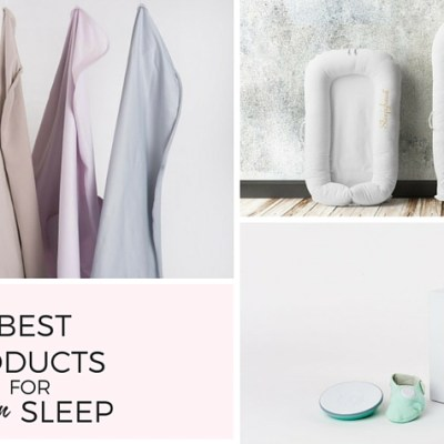 The 3 best products for newborn sleep - feature