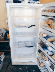 defrosting your freezer with three simple steps