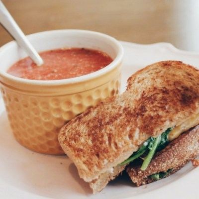 EASY Tomato Basil Soup for Cloudy Afternoons and Picky Children