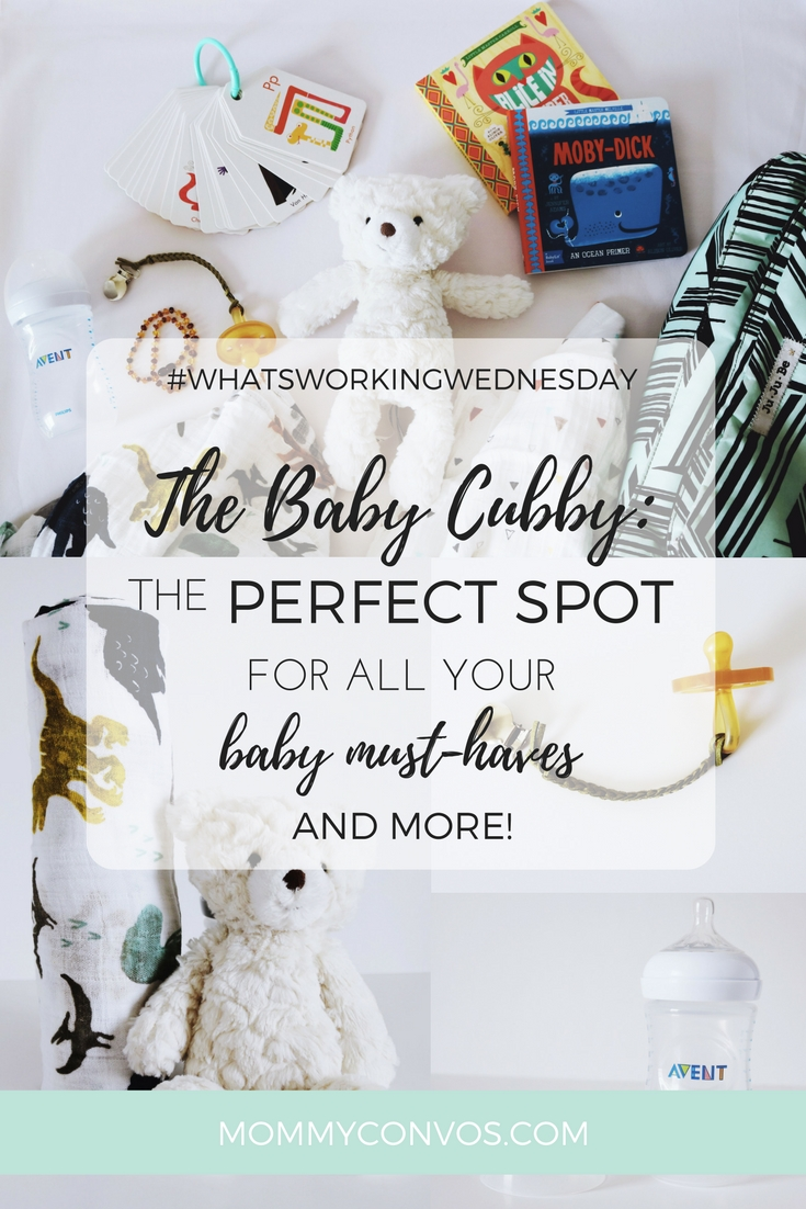 #whatsworkingwednesday The Baby Cubby : The Perfect Spot for All Your Baby Must-Haves and More