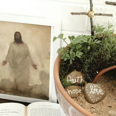 Easter Resurrection Garden