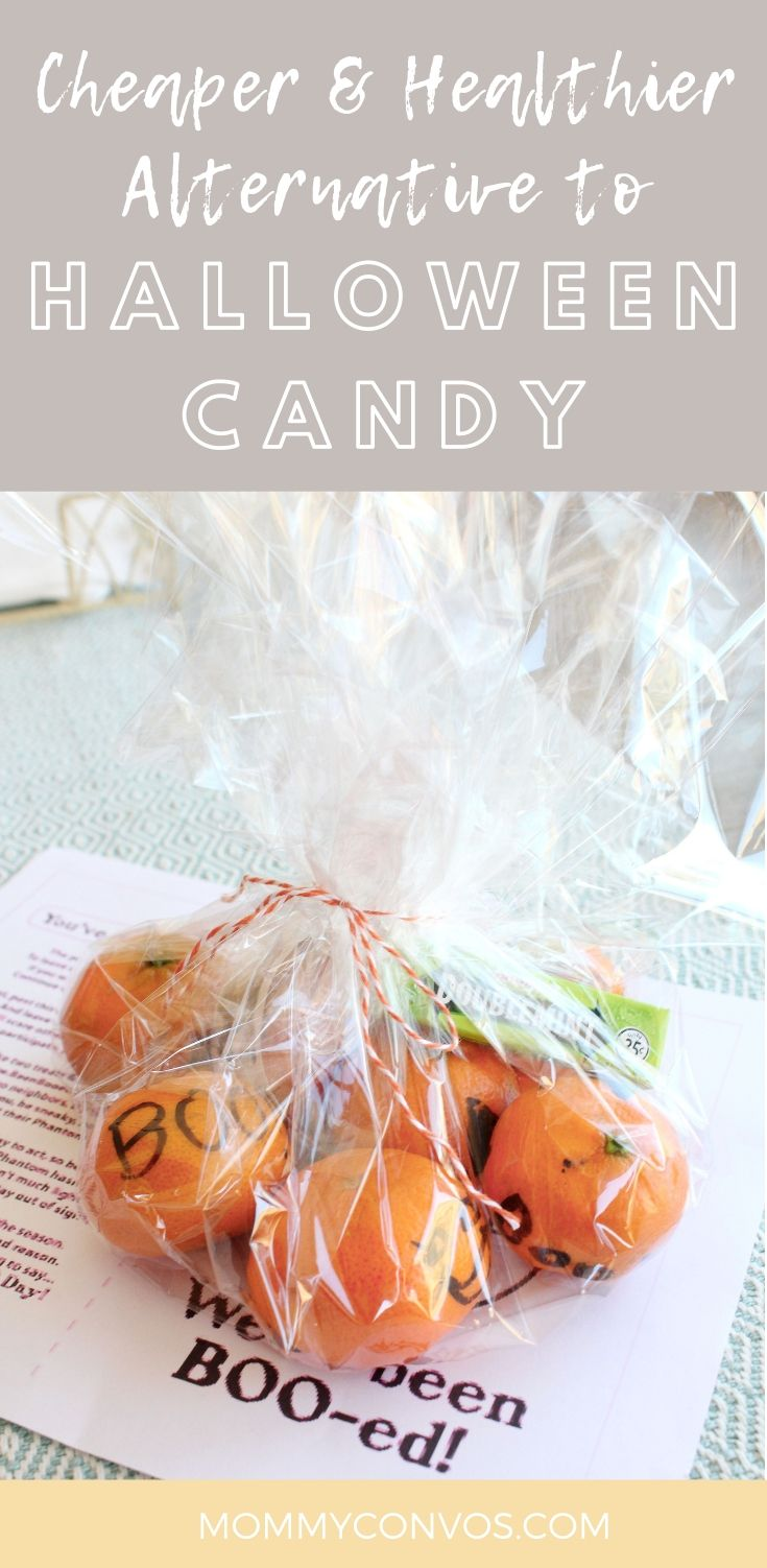 Healthy Halloween treats. What to pass out at Halloween. Healthy Halloween. Halloween Candy Alternatives. Pumpkin ideas. Tangerine pumpkin.