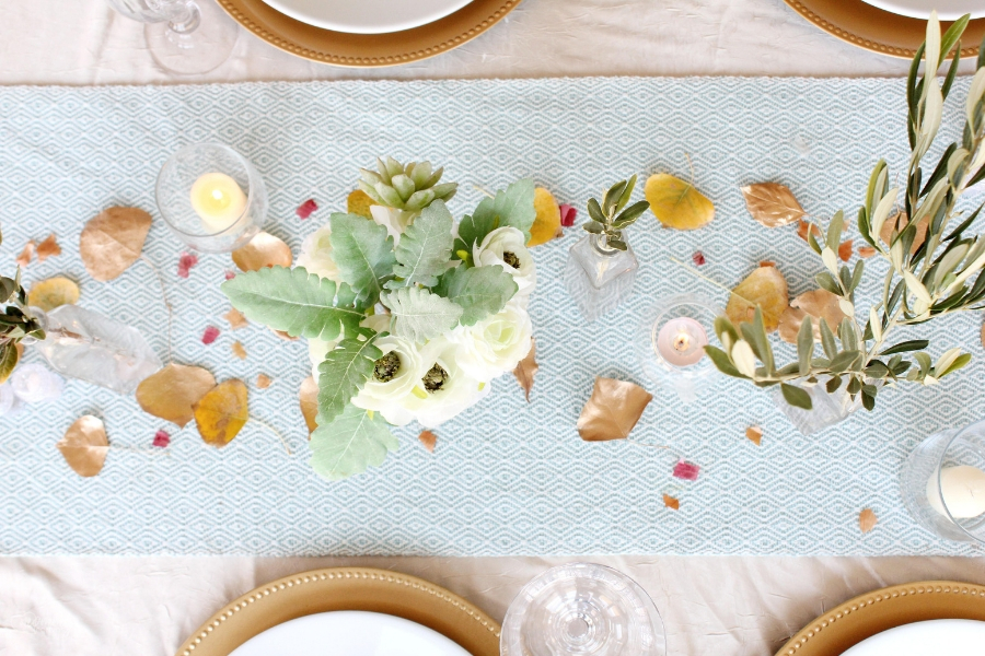 turkey name generator + 5 fun and frugal tablescape ideas for thanksgiving
