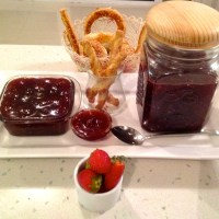 HOMEMADE NATURAL STRAWBERRY JAM