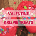 Valentine Rice Krispie Treats
