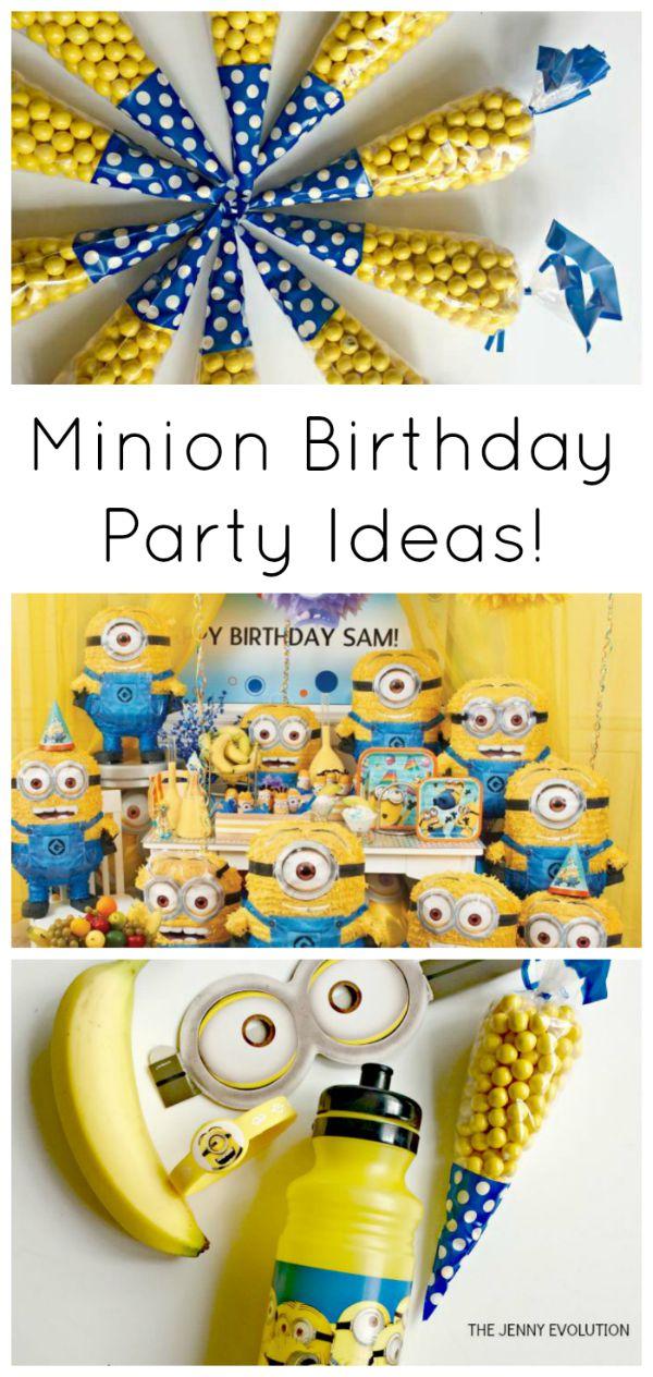Minion Birthday Party Ideas Have Minion Fun Mommy Evolution