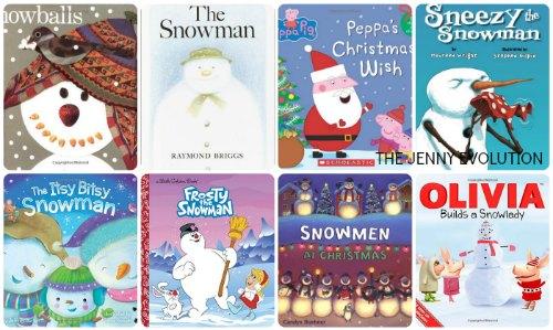Snowman Books For Children Mommy Evolution