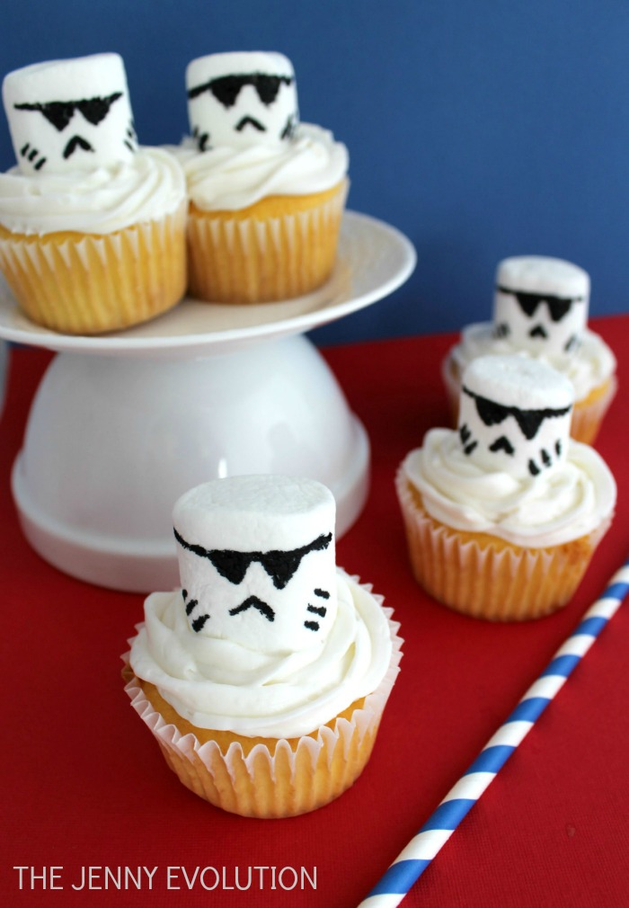 Storm Trooper Star Wars Cupcakes Mommy Evolution