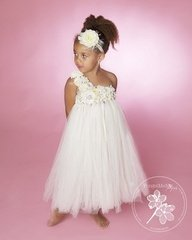 Ivory Rose Tutu Dress