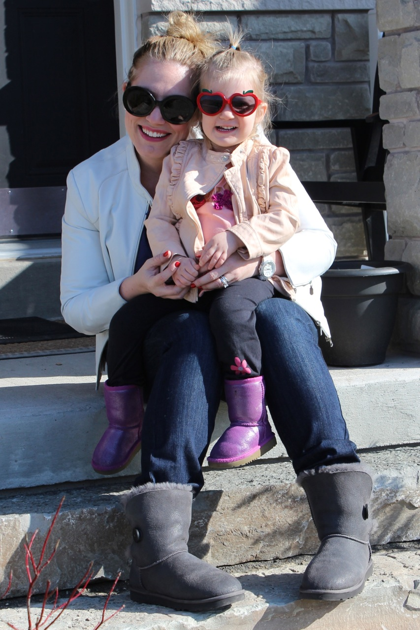 Mommy & me UGG boots