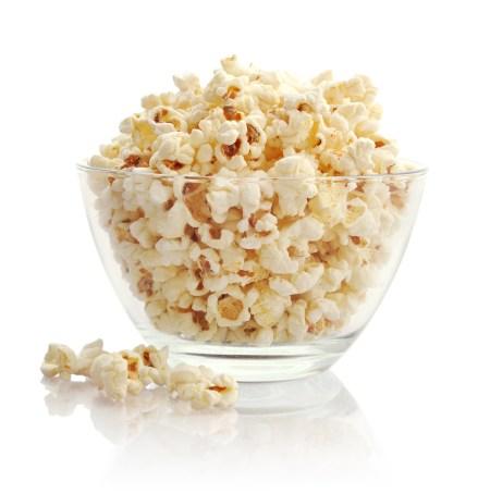 Healthy microwave popcorn
