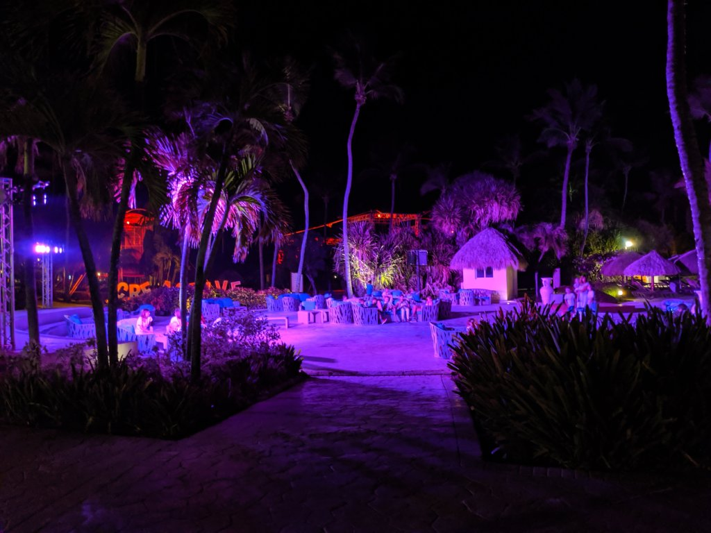 is club med fun at night
