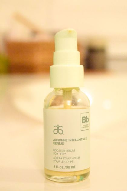 Another miracle in a bottle, this body booster will do wonders for the winter blahs on your body.