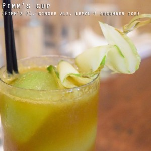 Cured - PIMM's cocktail