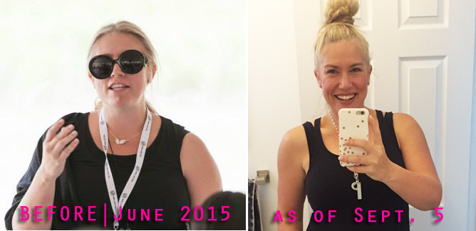 Arbonne Transformation Challenge - beforea and after