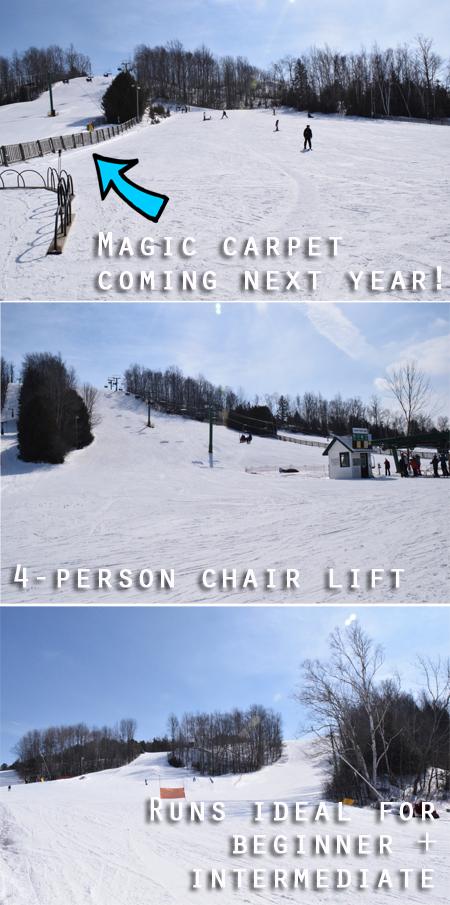 Hockley Valley Resort ski runs