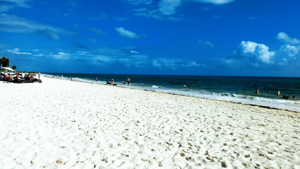 The beach at Royalton Riviera Cancun
