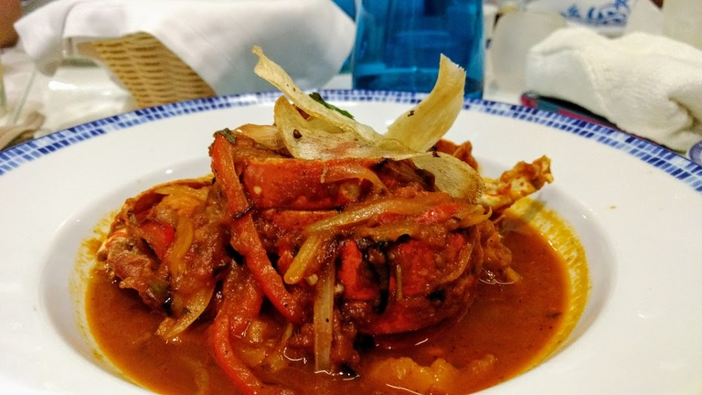 Lobster at Royalton Cancun