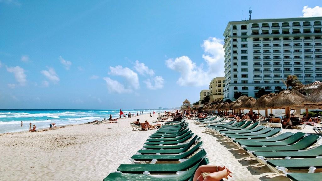 Hard Rock Cancun beach