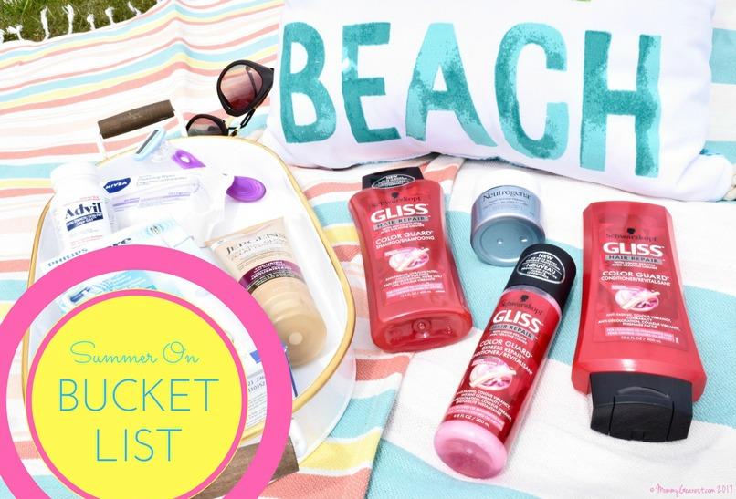 what's on my summer bucket list?