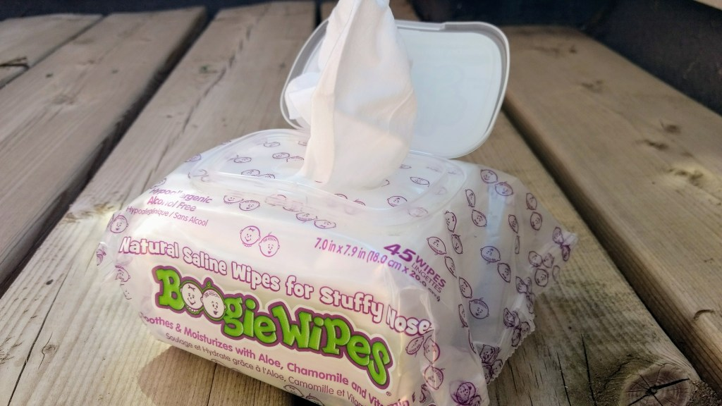 Unscented Boogie Wipes