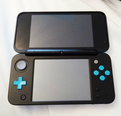The new Nintendo 2DS XL